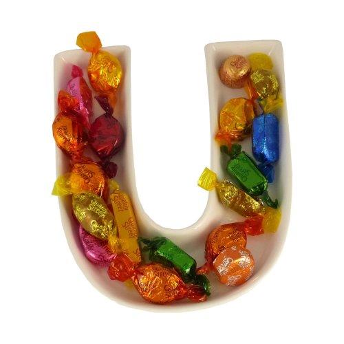 U Alphabet Dish