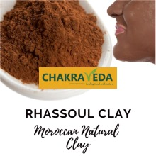 Rhassoul Clay, Best for Skin, 100% Natural, 100g by ChakraVeda