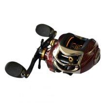 17+1 Ball Bearings Left / Right Hand Bait Casting Fishing Reel Gear Ratio 6.3:1 Baitcasting Reel Fishing Tackle Tool BC150L left hand