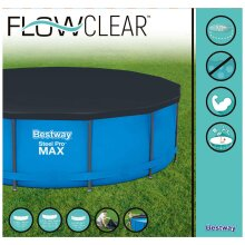 Bestway 12ft Steel Pro Max and Hydrium Frame Paddling Pool Cover