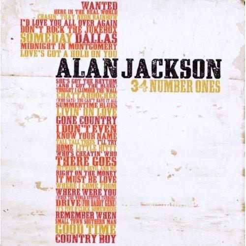 Alan Jackson - 34 Number Ones [CD]