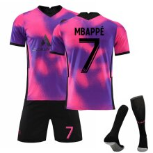 Paris Saint-Germain Mbappé Soccer Jerseys 2020/2021 Sportswear Sets