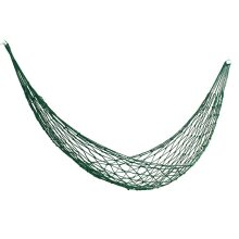 Outdoor Portable Mesh Net Nylon Hammock Hanging Swing Sleeping Bed Max Load 100kg Camping Hiking