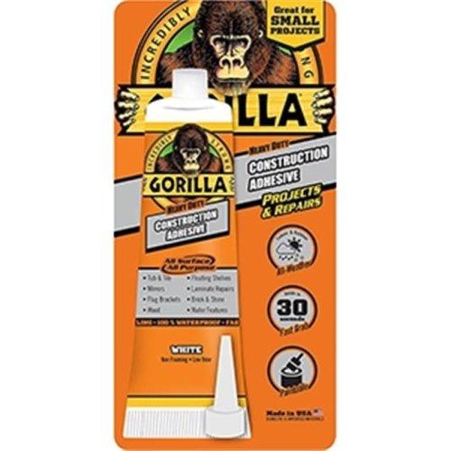 Gorilla Glue 052427802002 8020002 2.5 oz Tube Construction Adhesive