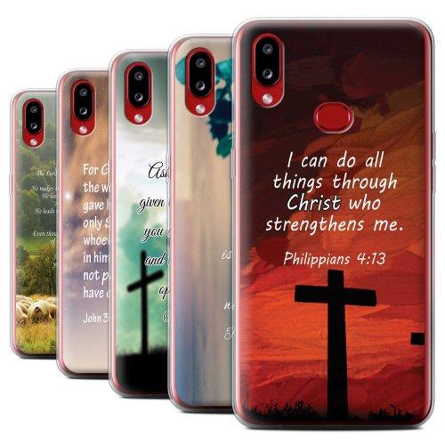 Christian Bible Verse Samsung Galaxy A10s (2019) Phone Case Transparent Clear Ultra Soft Flexi Silicone Gel/TPU Bumper Cover