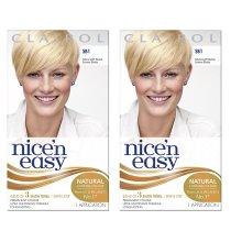 2pcs Clairol Nice'n Easy Natural Light Neutral Summer Blonde SB1 Hair Colour