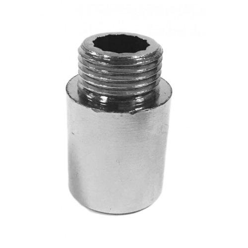 swivel Distanziabile without hole, 1/2 F, heavy brass