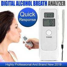 Breath Alcohol Tester Self Digital Analyzer Detector Breathalyser