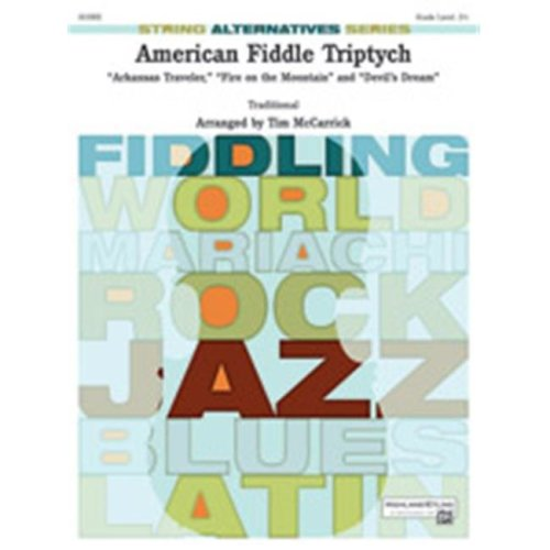 Alfred 00-38513 AMERICAN FIDDLE TRIPTYCH-HSA