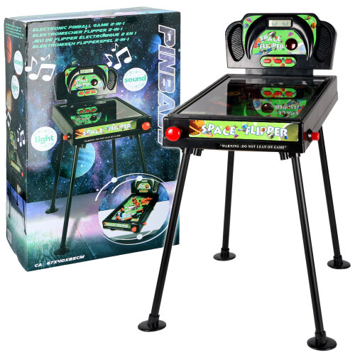 Electronic Pinball Game Flipper Machine on Legs or Table Top
