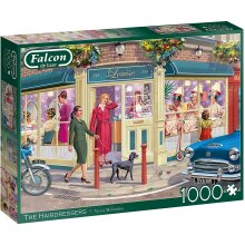 Jumbo Falcon Deluxe 1000 Piece Jigsaw - The Hairdressers