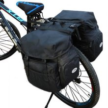 50L Bicycle Rear Rack Bag  Pannier With Rain Cover