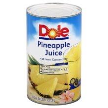 DOLE CAN PINEAPPLE JUICE - 2 Unit(s)----Each  Unit Is 24 X(250ML)