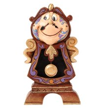 Official Disney Traditions Cogsworth Keeping Watch Figurine