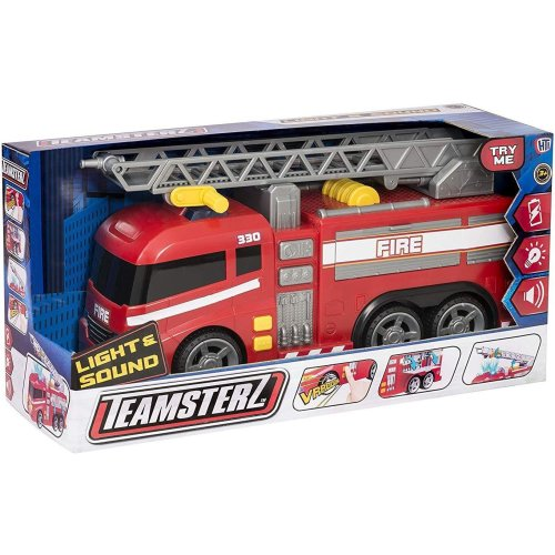 Teamsterz Large Light and Sounds Fire Engine