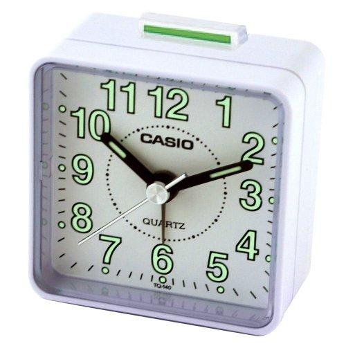 Casio TQ140-7 Beep Alarm Clock (white)