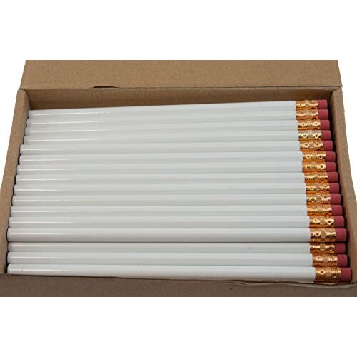 Round Pencils (Full Size Round Pencil with #2 Lead Available in a Variety of colors) (Tested Non Toxic) (Latex Free Eraser) (Bulk Box of 144) (classro