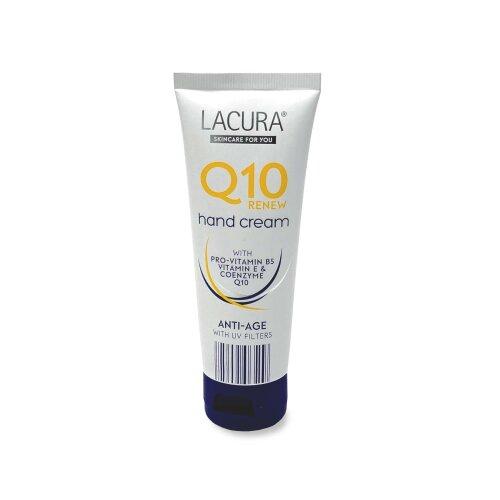 Lacura Q10 Hand Cream Anti-Age With Pro Vitamin B5, E & Coenzyme Q10 - 75ml
