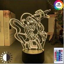 3d Lamp Anime My Hero Academia Tsuyu Asui Lamp Bedroom Decor
