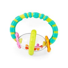 Bright Starts Grab & Spin Rattle and Teether Toy