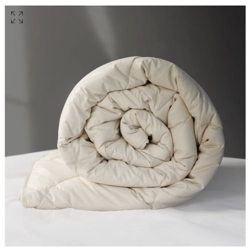 Wool premium classic king size winter 11/15 tog duvet cover 100% organ