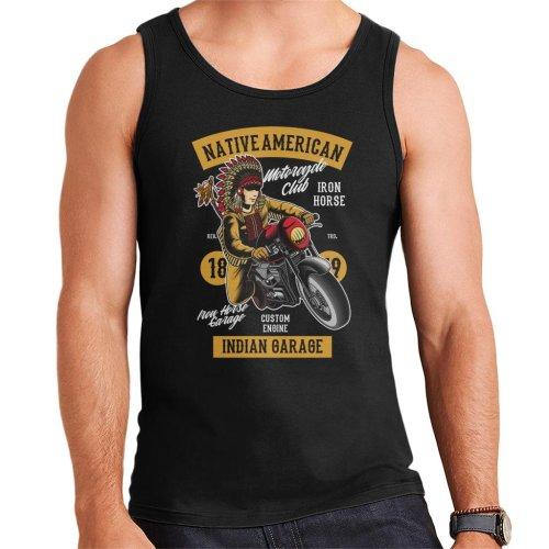 Native American Indian Garage Biker Men's Vest
