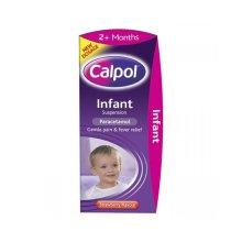 Calpol Sugar Free Infant Suspension  Strawberry Flavour 100ml