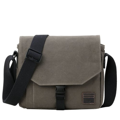 TRP0471 Troop London Classic Canvas Messenger Bag | Buy Bags Online | Canvas Messenger Bags | leather canvas backpack