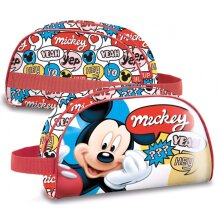 toiletry bag Mickey Mouse 1.5 liter polyester/PVC red
