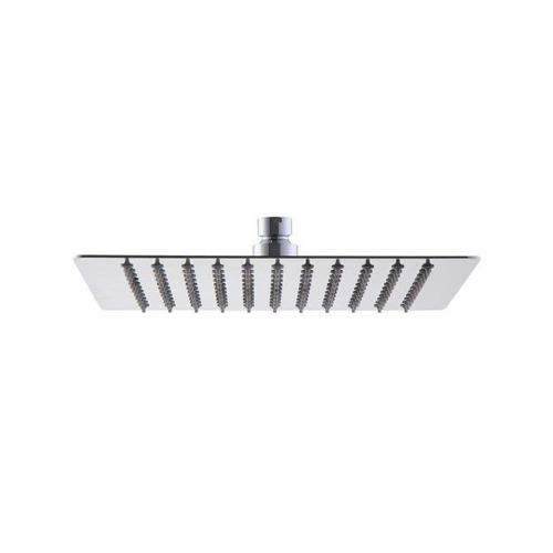 SHOWER SQUARE METAL CHROME ANTICALCARE 20 X 20, RAIN SHOWER