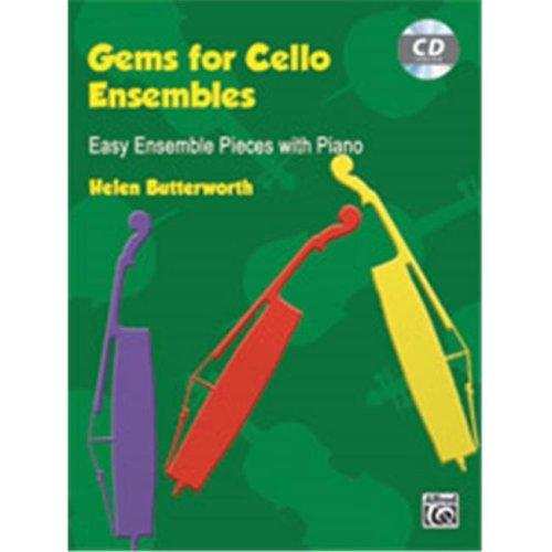 Alfred 00-20131UK GEMS FOR CELLO ENSEMBLES-BK&CD