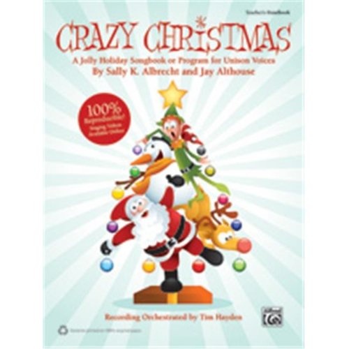 Alfred 00-39939 CRAZY CHRISTMAS-STRX CD