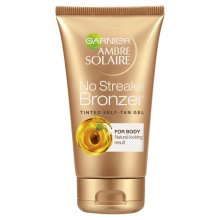Garnier Ambre Solaire No Streaks Bronzer Self Tan Tinted Gel, 150 ml