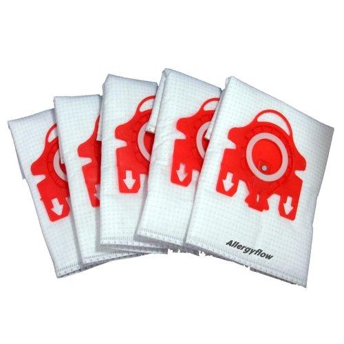 Pack of 5 Miele S4212 Microfibre Vacuum Cleaner Dust Bags