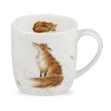 Wrendale by Royal Worcester The Artful Poacher Fox Mug, Multi-Colour