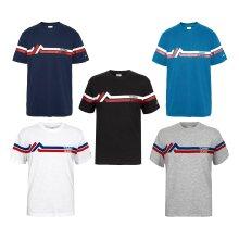 Tommy Hilfiger Men's TJM Stripe Mountain T Shirt