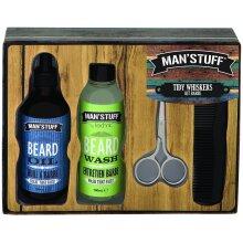 Man's Stuff by Technic Tidy Whiskers Beard Set - 4 Piece
