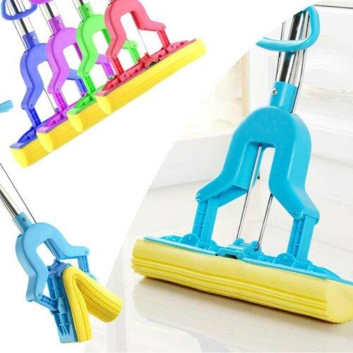 Heavy Duty Sponge Mop Super Absorbent Cleaning Floor Telescopic Handle