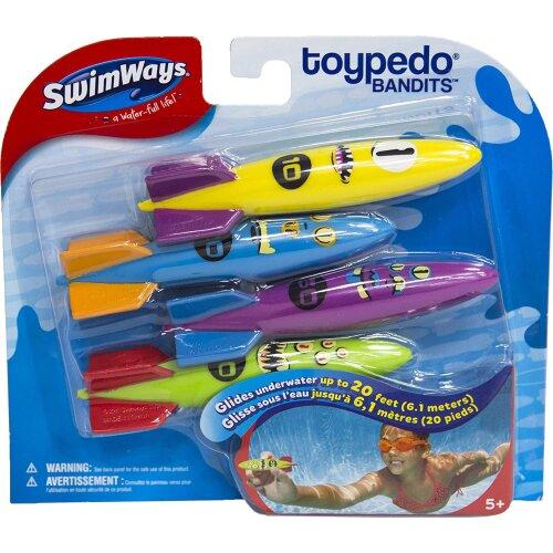 SwimWays 6045217 ToyPedo Bandits Assorted Colours