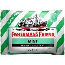 MINT SUGAR FREE FISHERMAN'S FRIEND LOZENGES 24 x 24g Packs