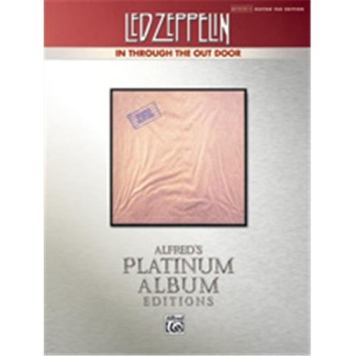 Alfred 00-37220 LED ZEPPELIN IN THRU OUT GTR PLAT