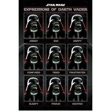 Star Wars - Expressions of Darth Vader Maxi Poster