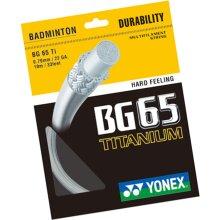 Yonex Badminton Racket String Bg-65 Titanium 200 Metre Roll ( ***New)