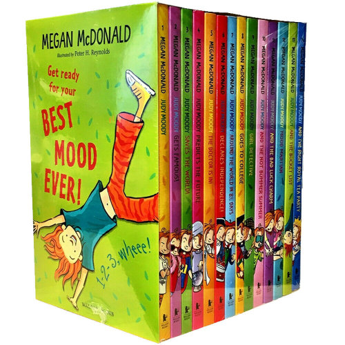Judy Moody Megan Mc Donald 14 Books Collection Set