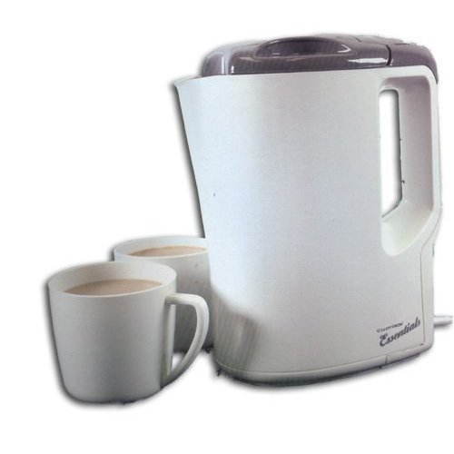 Travel Kettle with Cups CreamGrey