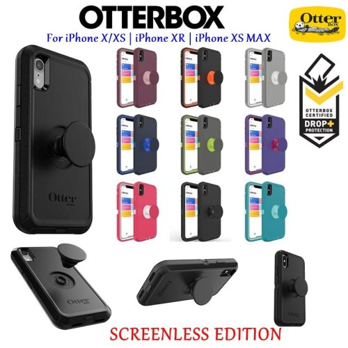 OtterBox Otter + Pop Screenless Edition Defender Series Rugged Case Cover