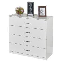 URBNLIVING 4-5 Drawer Wooden Bedroom Chest Cabinet