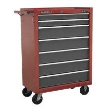 Sealey AP22507BB Roll Cab 7 Drawer Ball Bearing Roller Tool Storage Cabinet Box
