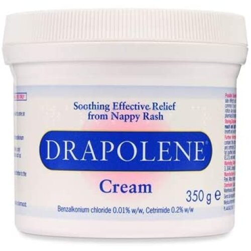 2 x Drapolene Cream 350g tub | For Sore Skin Caused by Incontinence