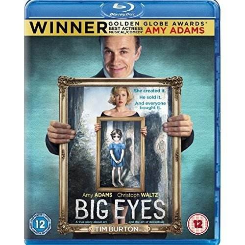 Big Eyes Blu-Ray [2015]
